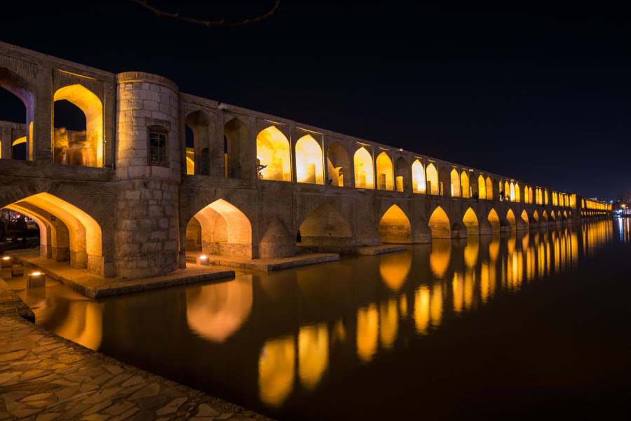Bridge of 33 Arches by Chen Jiajia on 500px.com