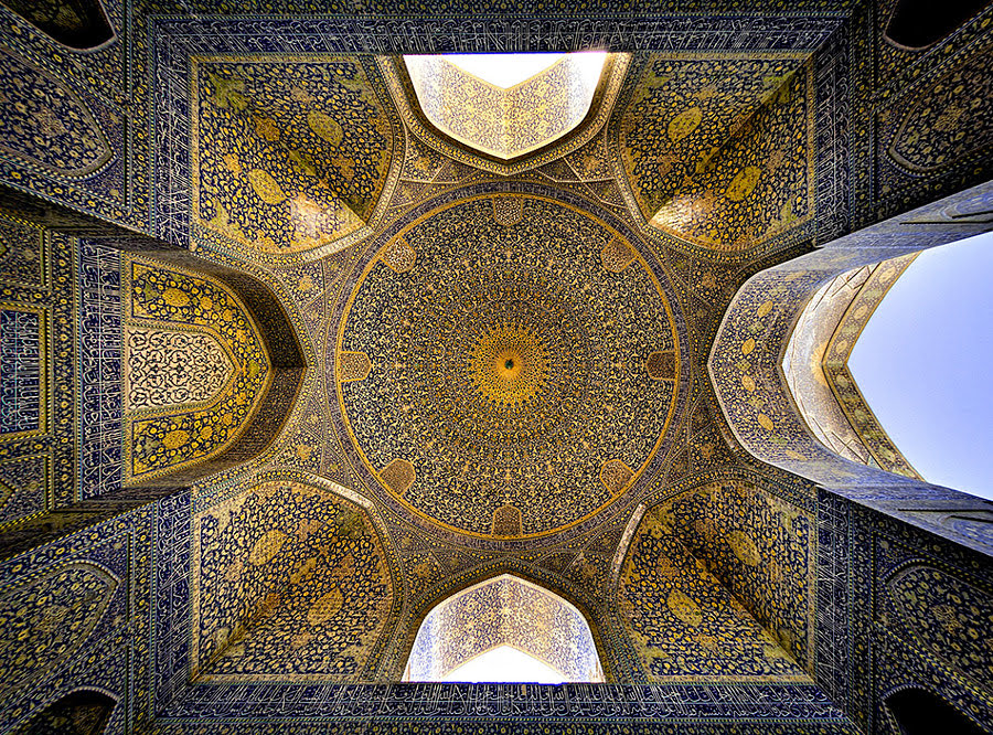 Dome of ( Shah) Emam Mosque - Isfahan by Mohammad Reza Domiri Ganji on 500px.com